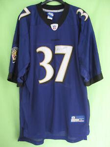 Maillot-Baltimore-Ravens-Football-Americain-Sanders-37-Reebok-Jersey-XXL