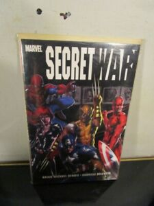 Marvel-SECRET-WAR-TPB-Graphic-Novel-BRIAN-MICHAEL-BENDIS-BAGGED-BOARDED