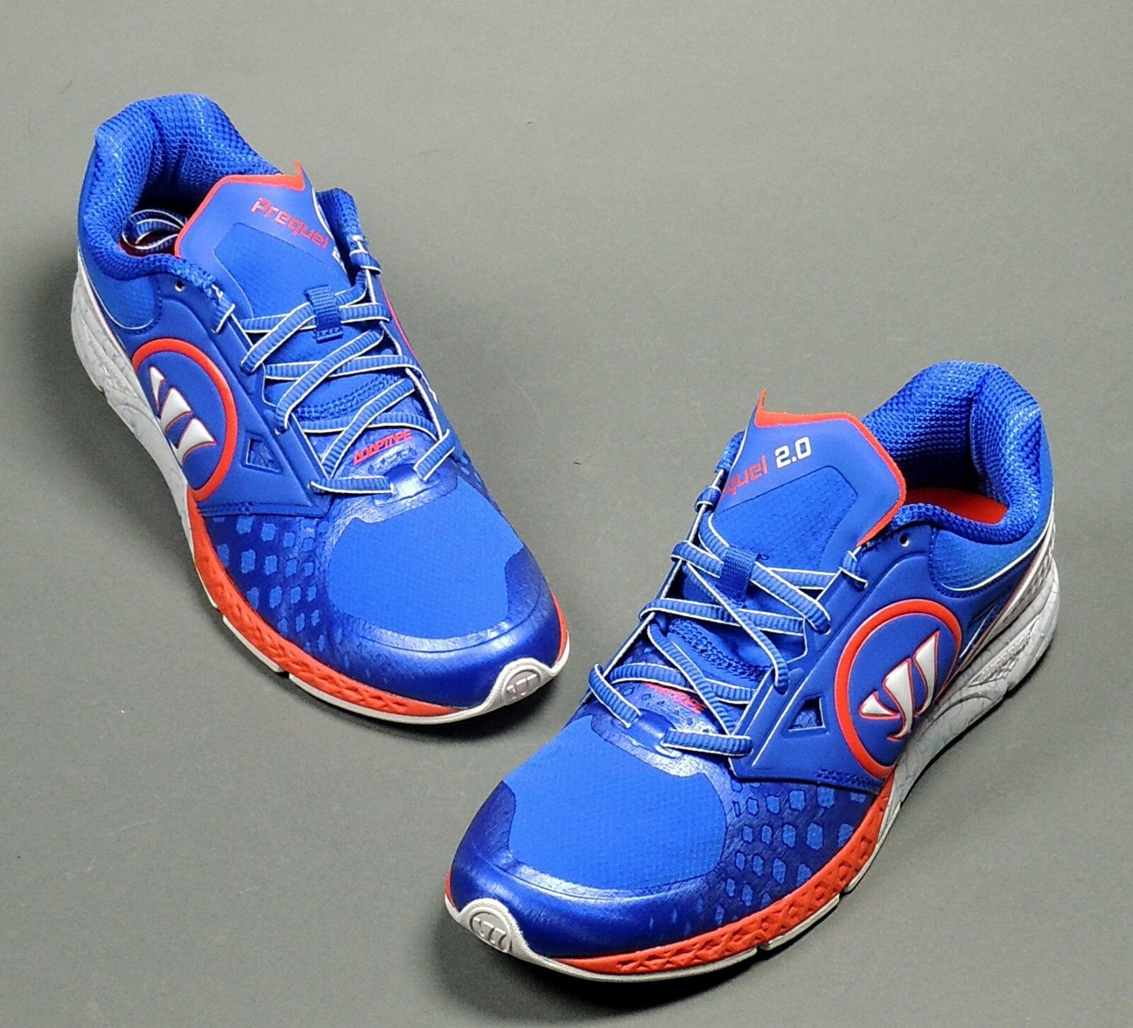 Warrior Prequel 2.0 Mens Training running sneaker Blue/Solar Red (NEW)Lists@$145