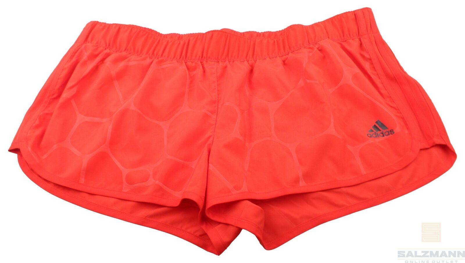 Adidas Damen Shorts Bermuda Gr. L Rot Neu