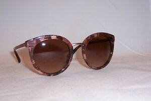 323111b70a8a8 NEW DOLCE   GABBANA SUNGLASSES DG 4268 313113 BRONZE BROWN AUTHENTIC ...