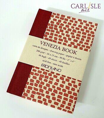 15x23cm Fabriano Venezia Drawing Book 6x9in