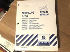 New Holland Tc30 Tractor Factory Original Repair Manual Unused In Plastic