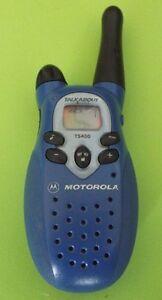 motorola talkabout t5420 k7gt5420 2 mile range 12 channels two way rh ebay com Two-Way Radio Motorola Talkabout T5420 Motorola Talkabout T5420 Rechargeable Battery