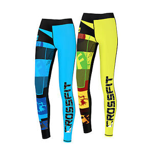 465c10fff4e84 Image is loading FDX-Women-Crossfit-Compression-Tights-Yoga-Gym-Grit-