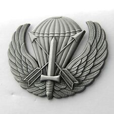 US ARMY SPECIAL FORCES AIRBORNE PARACHUTE WINGS LAPEL PIN BADGE 1.75 INCHES