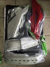 KIT PLASTICHE HUSQVARNA CR WR 250 300 2008 08 4 PZ COLORE ORIGINALE FOTO