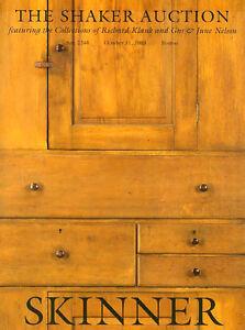 Skinner Shaker Furniture Klank Nelson Collect Mount Lebanon Auction Catalog Ebay