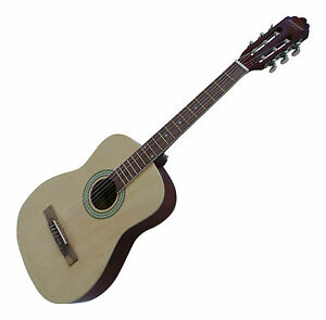 New-Beginners-Classical-Guitar-Pack-Right-Handed-Package-38-inch-Natural-38-034