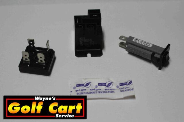 Club Car Battery Charger Repair Kit Powerdrive 2 Model