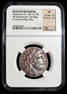 Seleucid-Kingdom-Antiochus-VII-Euergetes-Sidetes-138-129-BC-Ar-Tetradrachm