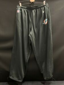 76-MIAMI-DOLPHINS-NIKE-TEAM-ISSUED-USED-THERMA-FIT-PANTS-WITH-POCKETS-SIZE-4XL