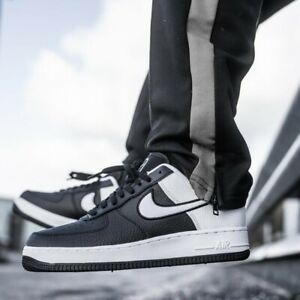 Details about Nike Air Force 1 Lv8 1 Low Sneakers Men's Lifestyle Comfy Shoes BlackWhite