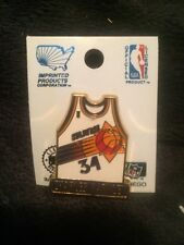 New On Card PHOENIX SUNS Charles Barkley 1st Jersey Licensed Pin NBA