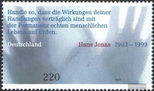 BRD-BR-Deutschland-2338-kompl-Ausg-gestempelt-2003-100-Geburtstag-Hans-Jon