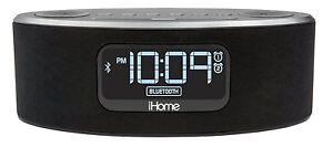 iHOME iBT31 BLUETOOTH CLOCK RADIO WITH FM+ALARM+SPEAKER PHONE+USB CHARGING+AUX