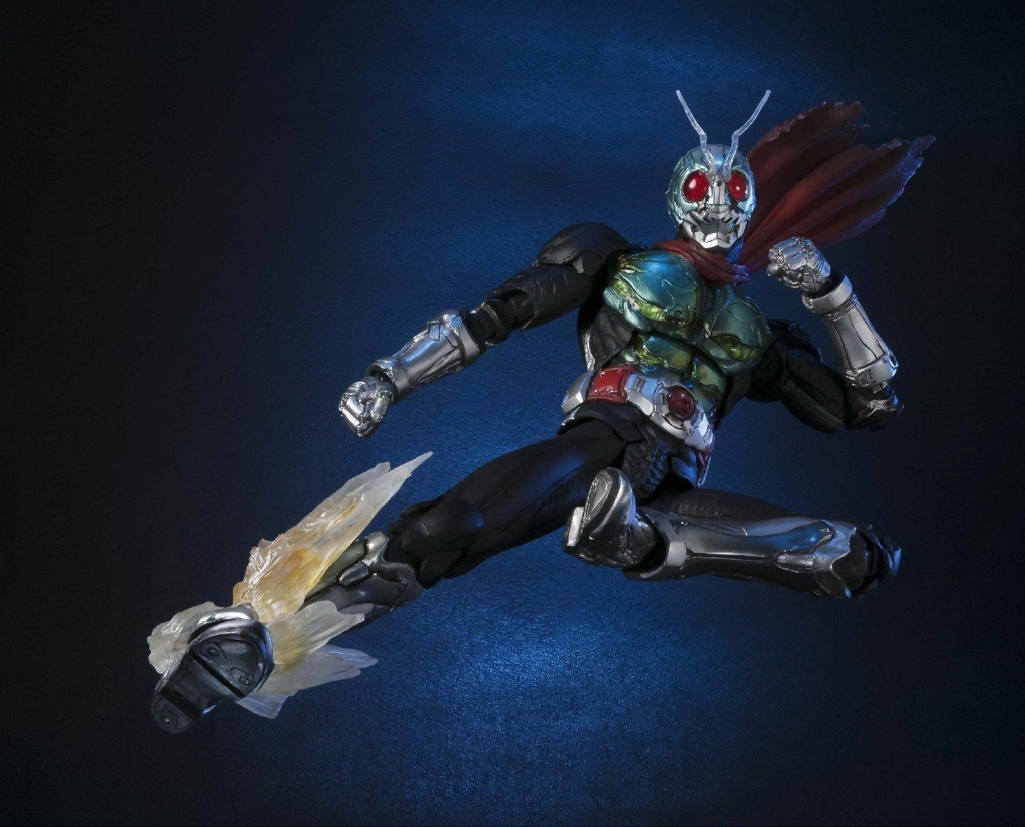 S.I.C. Masked Masked Masked Kamen Rider NEW 1 Action Figure BANDAI TAMASHII NATIONS from Japan 3be222