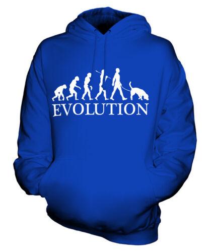 Coonhound evolution of man Unisexe Sweat À Capuche Hommes Femmes Mesdames chien REDTICK Cadeau