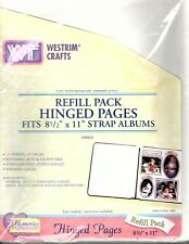 Memory Album Refills 20 Pages 10 Sheets 12x12