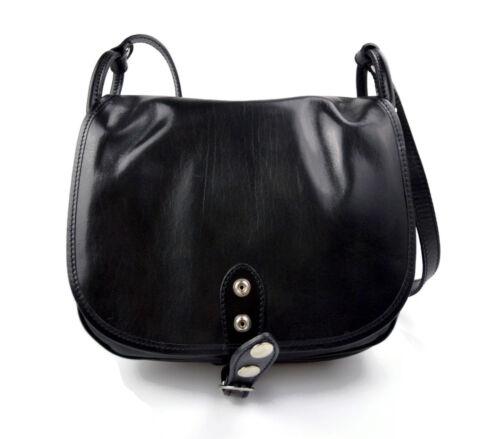 Donna Tracolla Bag Vera Hobo A Made Italy Borsa In Pelle Nero Spalla 7HqwSf
