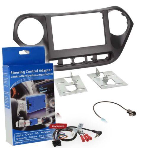 HYUNDAI I10 Type IA Since 13 2-Din Car Radio Installation Set