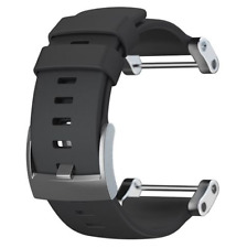 New Original Suunto Core Black Rubber Strap Band Fit All Core Models SS020341000