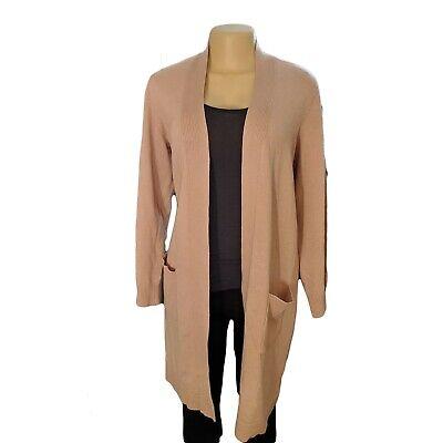 Torrid 1X Blush Pink Rib Longline Pocket Plus Size Cardigan Open Front | eBay