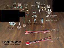 Toranado Extruder v2.1+ - Fasteners, w/ Bearings and Collar