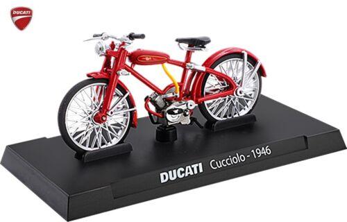 DUCATI CORSE  Motorräder  Diecast 1//24 Modelle CUCCIOLO 1946