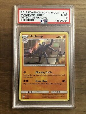Machamp 13//18 Rare Holo Detective Pikachu Mint Pokemon Card