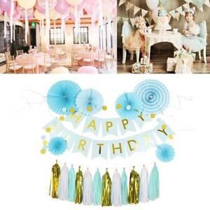 Fete-Anniversaire-banderole-banniere-ballon-tirer-Couronne-mariage-Kit-decor