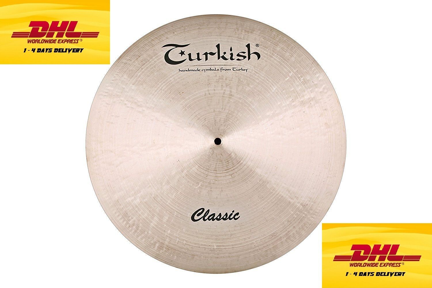 Turkish Cymbals Traditional Series 20-inch Classic Ride C-R20 Cymbals