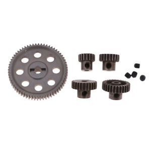 1-10-RC-Car-Parts-Metal-Reduction-Gear-for-Diff-Gears-64T-29T-26T-21T-17T