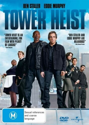 1 of 1 - Tower Heist (DVD, 2012) R4 PAL NEW FREE POST