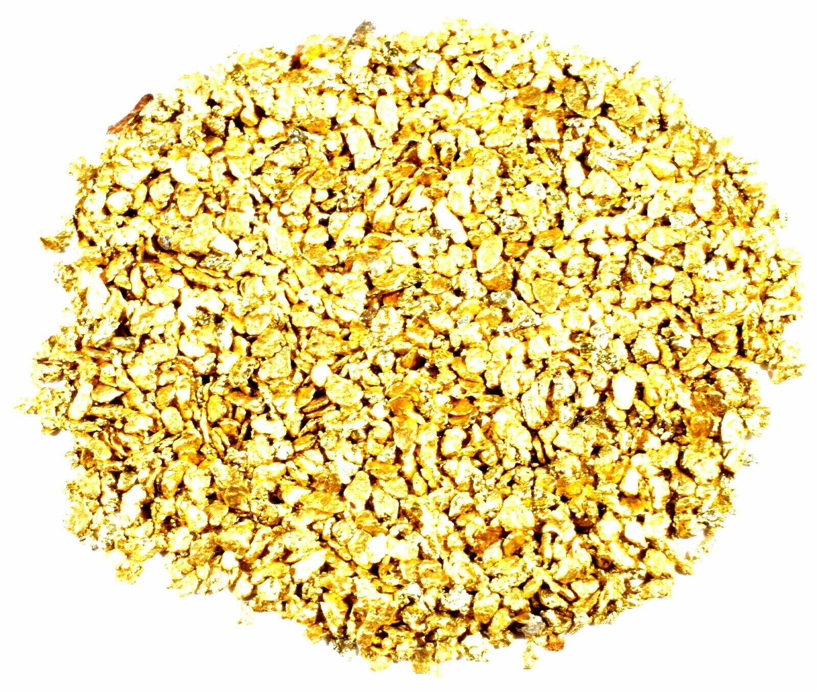3.111 GRAMS ALASKAN YUKON BC NATURAL PURE GOLD NUGGETS #16 MESH FREE SHIPPING