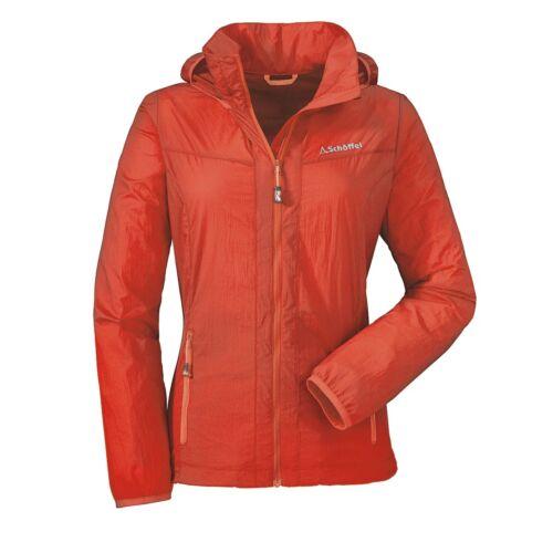 Schöffel Windbreaker Jacket L Damen Funktionsjacke orange rot