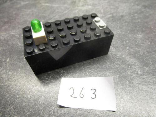 Batteriekasten mit  Leuchtstein Lego Light and Sound