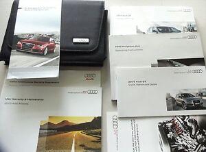 oem 2010 audi q5 owners manual owner s manual book case ebay rh ebay com 2010 audi q5 owners manual download audi q5 user manual 2010