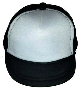 Baby Infant Blank Snapback Mesh Trucker Hat Cap Kid Child Children ... bf8202c1b33