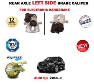 Electric Brake Caliper Fits Rear Left Audi Q3 2.0 TDI 2011-2014