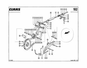 Claas Tucano 450/440 Spare Parts Catalogue, Original Manual (PDF catalog)