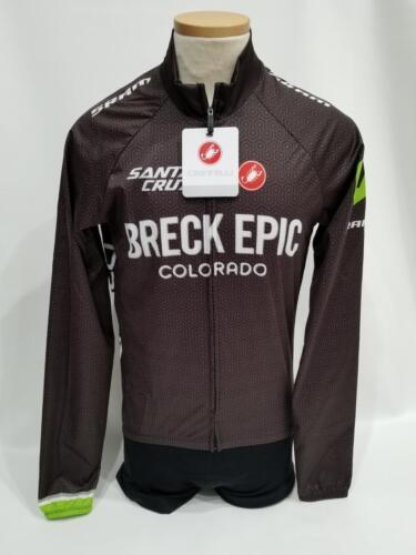 New Castelli Wind Jacket Men/'s Small Black Road Bike Cycling Breck Epic SRAM