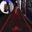 2-Laser-5-LED-Flashing-Rear-Bike-Bicycle-Tail-Light-Lamp-Beam-Safety-Warning thumbnail 1