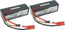 2 Turnigy 5000mAh 4S 14.8v 20C 30C Lipo Battery Pack Losi HPI Redcat Venom USA
