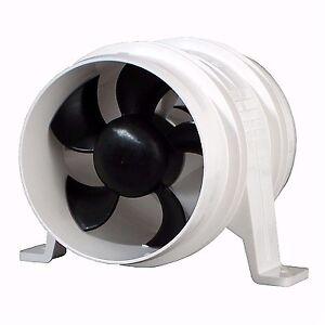 ATTWOOD TURBO 4000 BLOWER 200 CFM WATER RESISTANT 12V WHITE