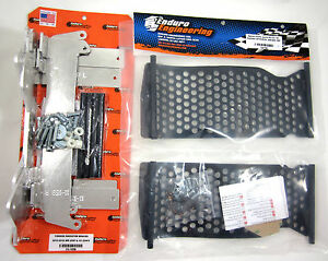 Enduro Engineering Radiator Braces Guards Yamaha WR WRF YZFX 450 16 17 18 NEW