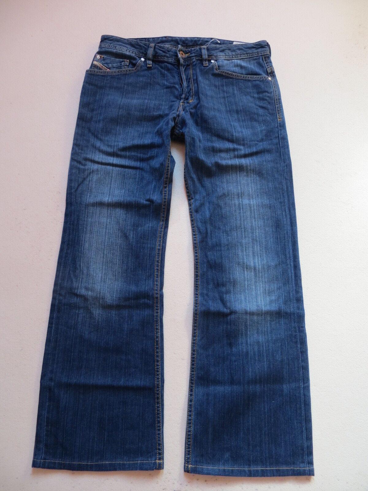 Diesel ZAGHOR wash 008RS Stiefelcut Jeans Hose W 31  L 30 Wide Leg Vintage Denim