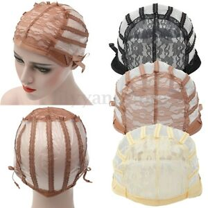 Hot-Wig-Cap-Making-Wigs-Straps-Breathable-Mesh-Weaving-Adjustable-Cap-3-Styles