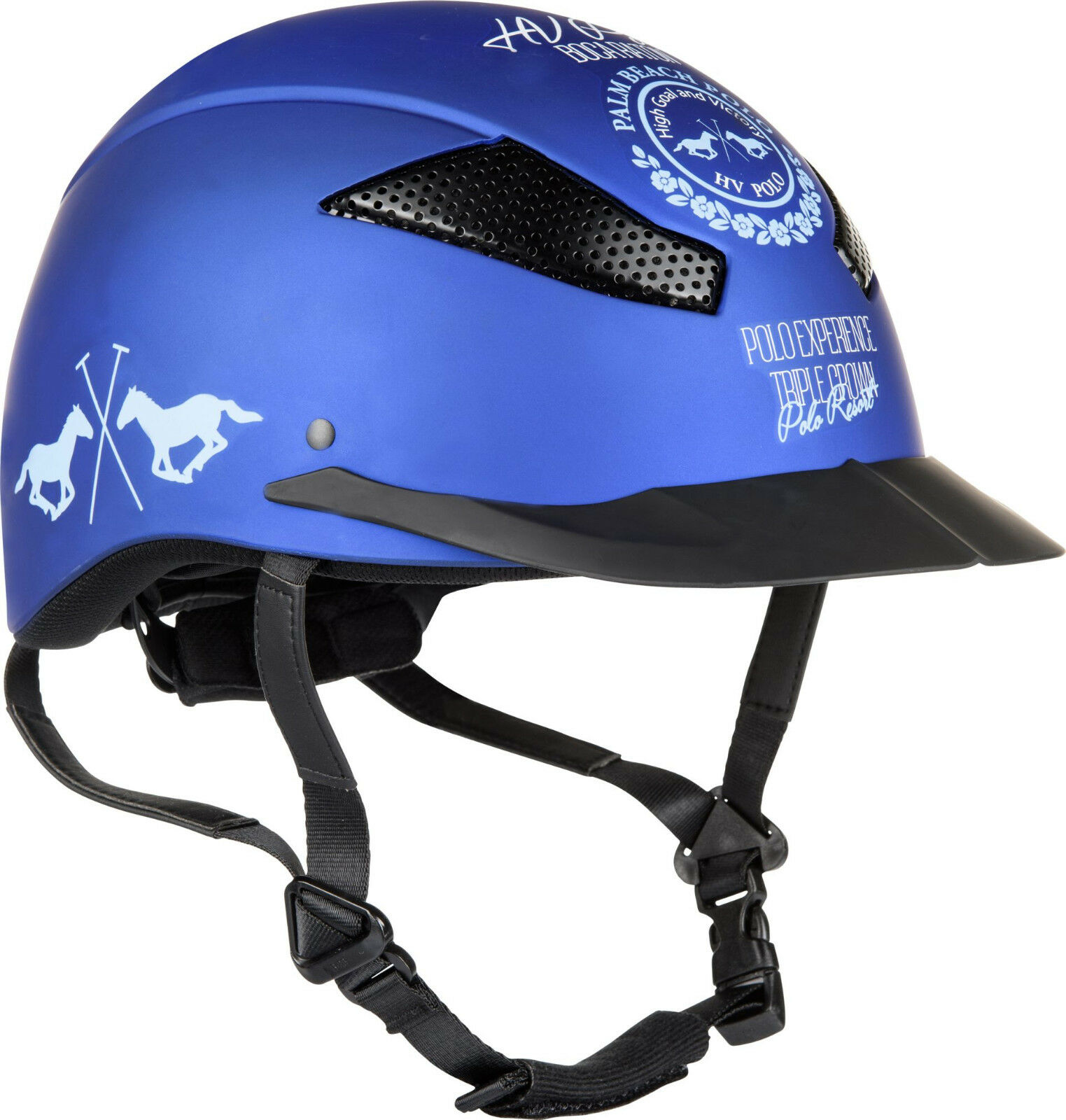 HV Polo Sicherheits-Reithelm Aberdeen CE VG1 01 01 01 040 2014-12 Coolmax 30d161