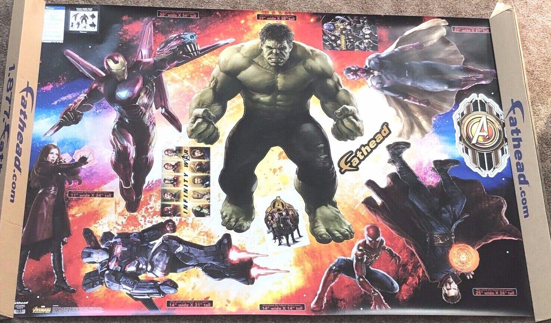Original FATHEAD Marvel Avenger Endgame Okoye Life Size Wall Decal Sticker NEW
